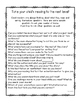 Reading Questions for Parents Hooray! {Great for Open House and Conferences!}