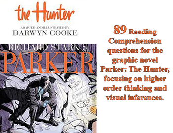 Reading Questions for the graphic novel Parker: The Hunter