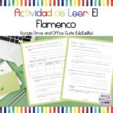 Reading Quiz/Activity: El Flamenco