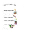 Reading Quiz Informational Text Main Idea