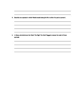 Reading Quiz: Maus, Part 1