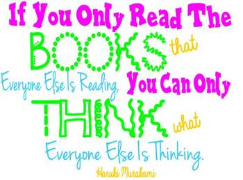 Reading Quote Poster-If You Only Read...