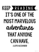 Reading Quote Posters - Simply Black and White