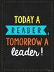 Reading Quote Posters - Neon Chalkboard