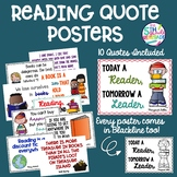 Reading Quotes Posters- Read Across America  *Color and in