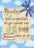Reading Quote: Reading gives us someplace to go
