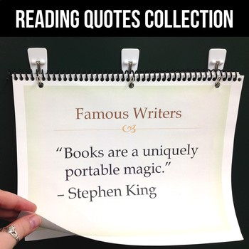 FREE Reading Quote of the Week Collection