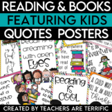 Reading Quotes Posters featuring Kids