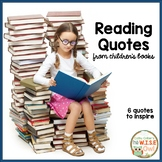 Reading Quotes from Children's Books