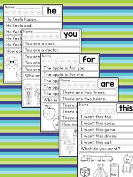 Reading Rabbit : Sight Word Sentences Set 1 : Level 1 Guided Reading