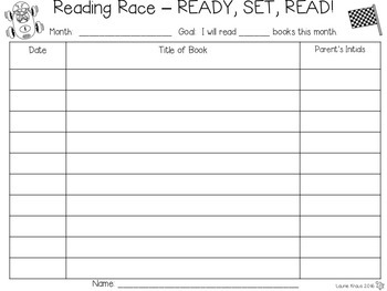 Reading Race - Logs, Certificates, and Incentives to Motivate Readers