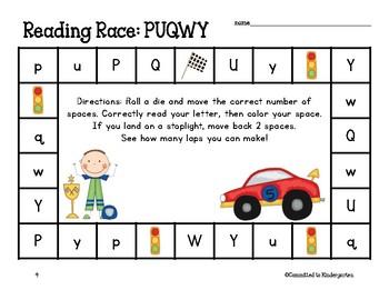 Reading Race: Alphabet