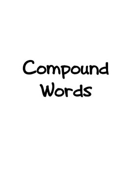 Reading Race Game! Compound Words Prefixes Suffixes Capitalization SALE