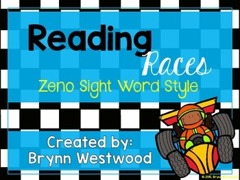 Reading Races-Zeno Sight Word Style
