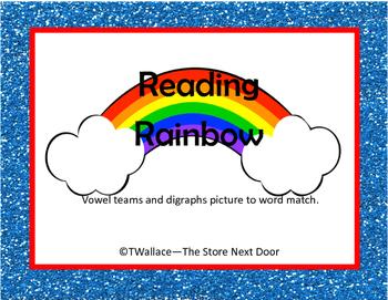 Reading Rainbow Vowel Teams