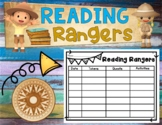 Reading Rangers Student Generated Data Tracking Graphic Or