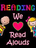 Reading: Read Aloud Lessons & Activities Bundle