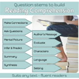 Reading: Reader Response Stems