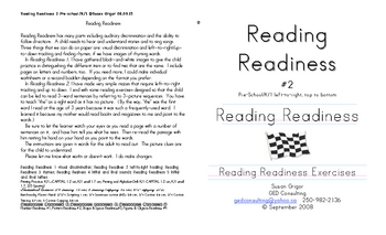 Reading Readiness 2 L-R T-B tracking