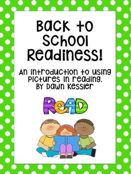 Reading Readiness Cut Apart Books
