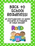 Reading Readiness Cut Apart Books