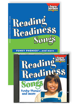 Reading Readiness Songs, Digital MP3 Album Download w/ Lyrics