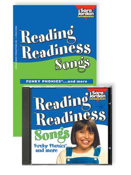 Reading Readiness Songs, Digital MP3 Album Download w/ Lyrics