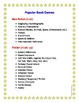 Reading - Reading Log - Home and School - Plus List of Popular Book Genres