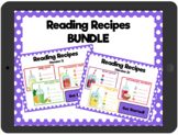 Reading Recipes Bundle: Interactive PDFs