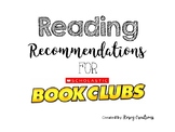 Wish List for Scholastic Book Orders - Reading Recommendations