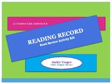 Reading Record/ Awards Activity Kit