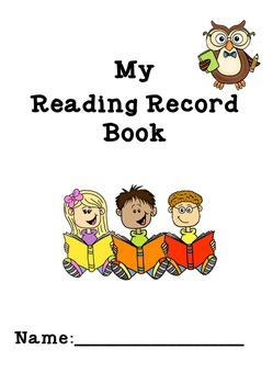 Junior Primary Reading Record Book