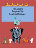 Reading Recovery Inspired Lessons Pack #1