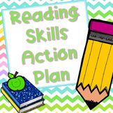 Reading Skills Action Plan - Editable