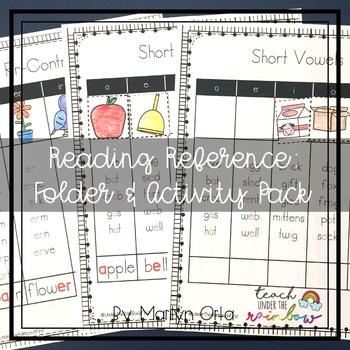 Reading Reference Folder & Activity Pack (Growing Bundle)