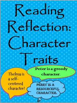 Reading Reflection: Character Traits