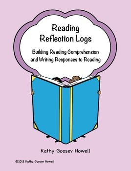 Reading Reflection Logs - Building Reading Comprehension &