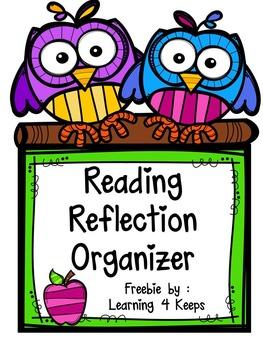 Reading Reflection Organizer