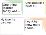 Reading Reflection Questions