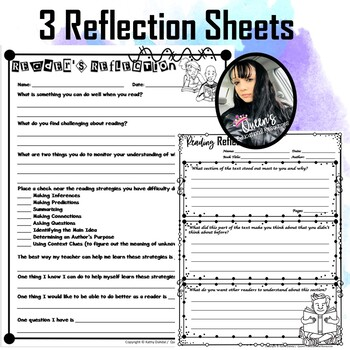Reading Reflection Sheets (3)