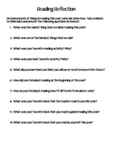 Reading Reflection Survey