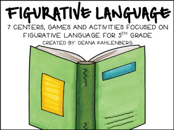 Reading Relationships {5th Grade Centers, Games and Activities}