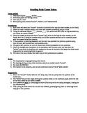 Reading Relay Game- Westward Expansion & Transportation