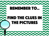 Reading Remember To's - Flash/Reminder Cards - Poster - Ed