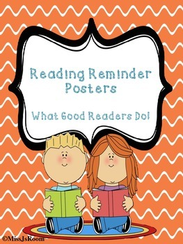 Reading Reminder Posters