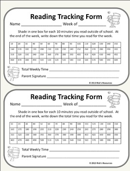 Reading Forms - FREE Distance Learning. Homeschool Ready.