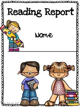 Reading Report: Reader's Workshop / Alternative for Reading Logs