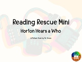 Reading Rescue Locked Box Comprehension Challenge- Horton