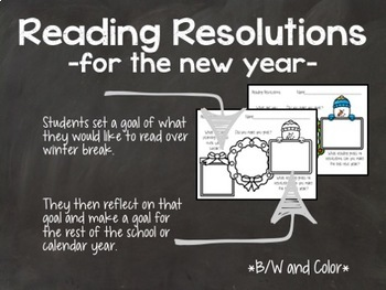Reading Resolutions: Making Reading Goals after Winter Break
