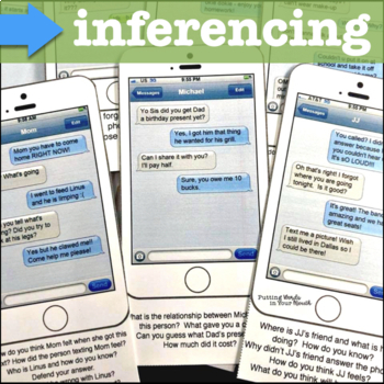Reading & Responding, Interpreting Language & much more {with text messages!}